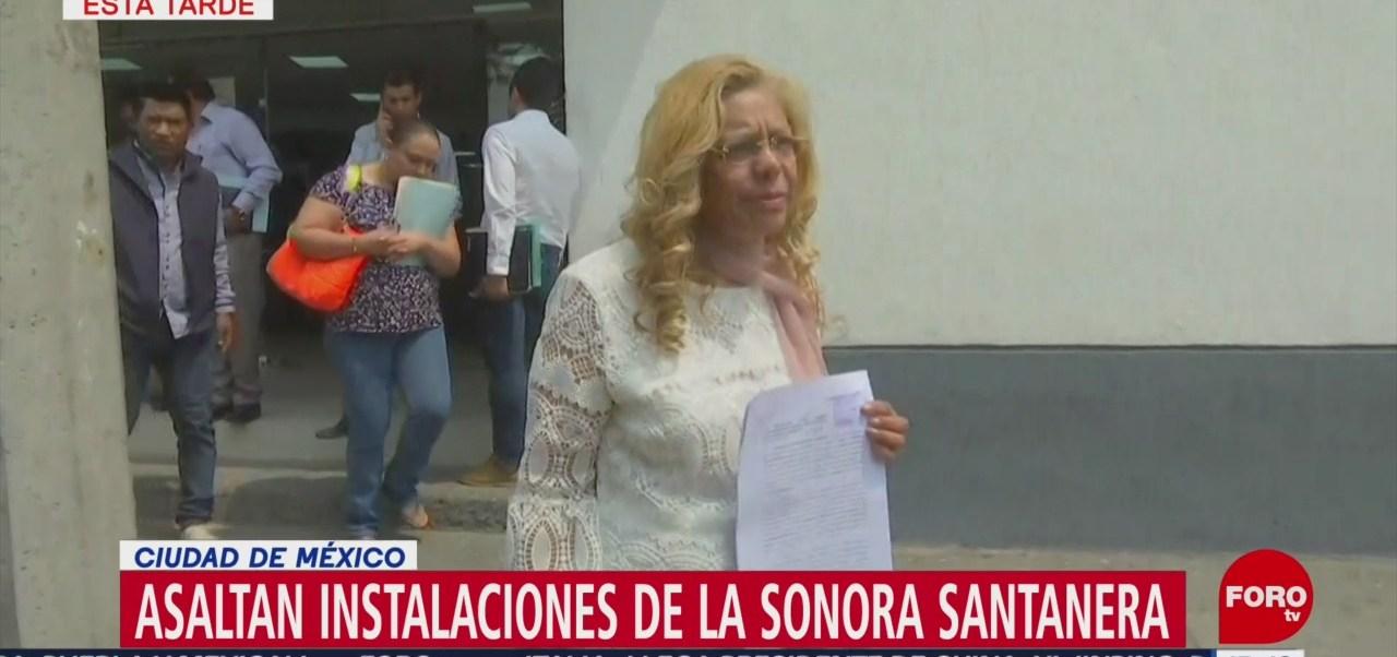 Foto: Sonora Santanera denuncia robo ante la PGJ-CDMX