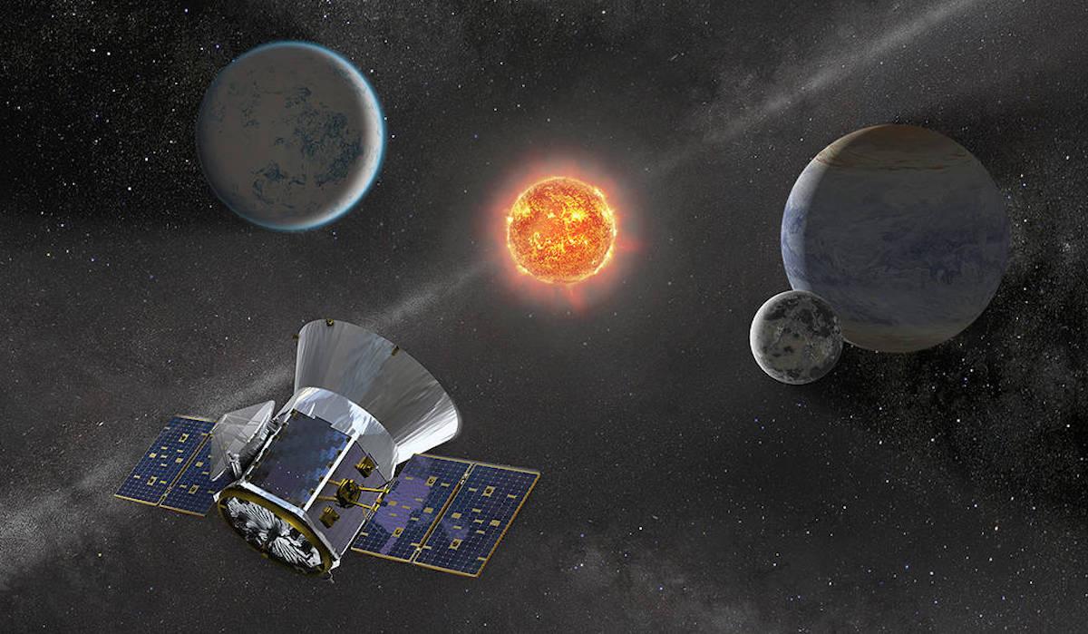 Foto TESS NASA 28 Marzo 2019