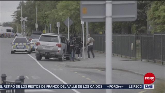 Testigo narra ataque en la mezquita Al Noor, en Nueva Zelanda