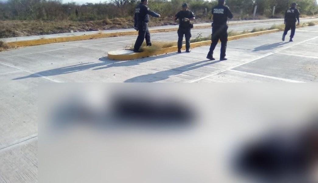 Foto: Los vecinos alertaron a las autoridades sobre el hallazgo, el 16 de marzo de 2019. (Twitter @CortamortajaMx)