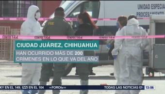 Foto: Tres homicidios diarios en Ciudad Juárez, Chihuahua