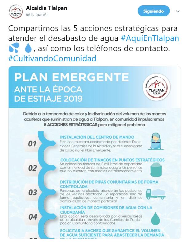 FOTO Bloqueo en carretera Picacho-Ajusco desata caos vial; vecinos exigen agua (Noticieros Televisa 27 marzo 2019 cdmx)