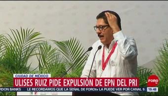 Foto: Expulsion EPN PRI Oaxaca 4 de Marzo 2019
