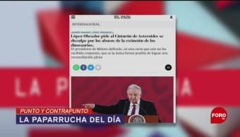 Foto: Carta Memes Paparrucha Del Día AMLO España 26 de Marzo 2019
