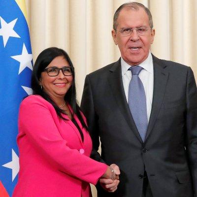 Venezuela es víctima de 'agresión multiforme' de EEUU: Delcy Rodríguez