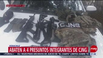 Foto: Veracruz Enfrentamientos Cárteles Policía 15 de Marzo 2019