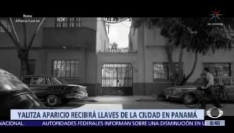 Yalitza Aparicio recibirá las 'Llaves de la Ciudad', en Panamá