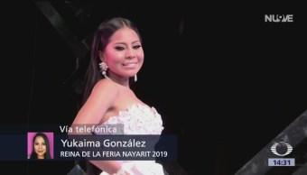 Foto: Yukaima González, primera indígena ganadora de la feria Nayarit 2019