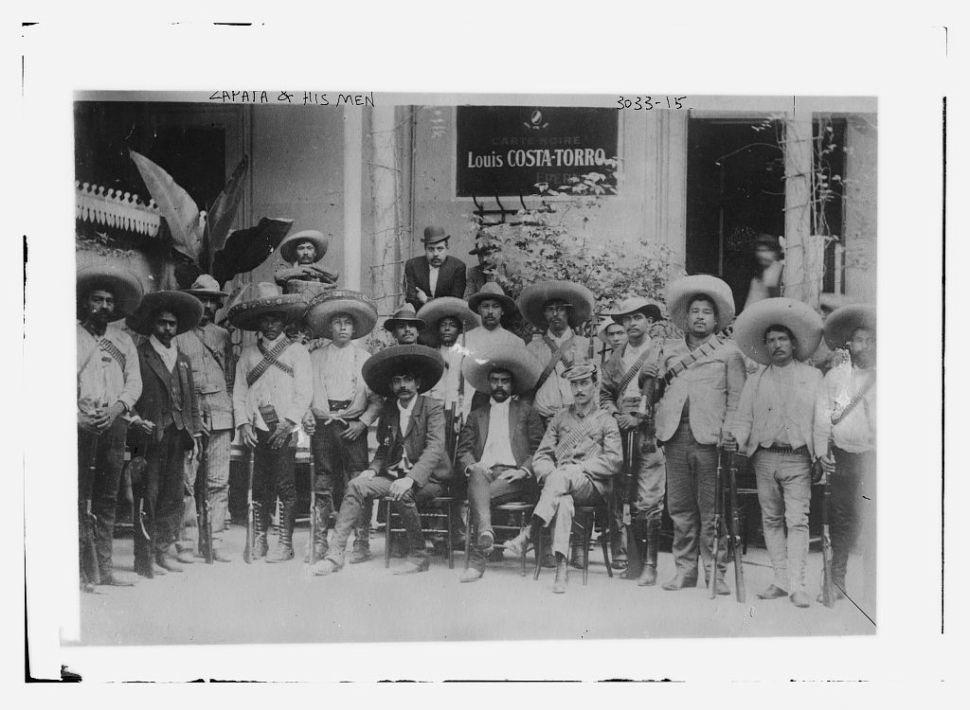 Emiliano Zapata y su hombres (1910-1919). (CC/Wikimedia)