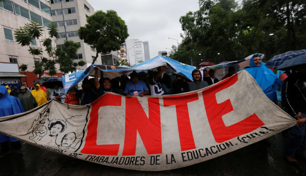 foto CNTE convoca a paro nacional y marchas el 1 y 2 de mayo 30 junio 2016