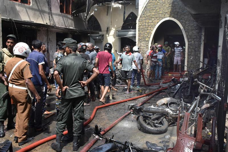 Otra explosión en hotel de Sri Lanka deja dos muertos