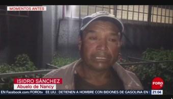 FOTO: Abuelo de Nancy Tirzo reitera que no procederán legalmente, 18 ABRIL 2019