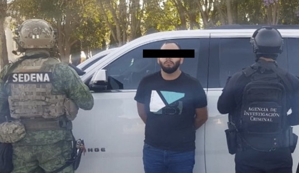 Detienen a 'El 8', presunto operador del CJNG y ahijado de