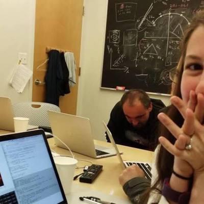 Katie Bouman, la mujer que nos dio la primera imagen de un agujero negro