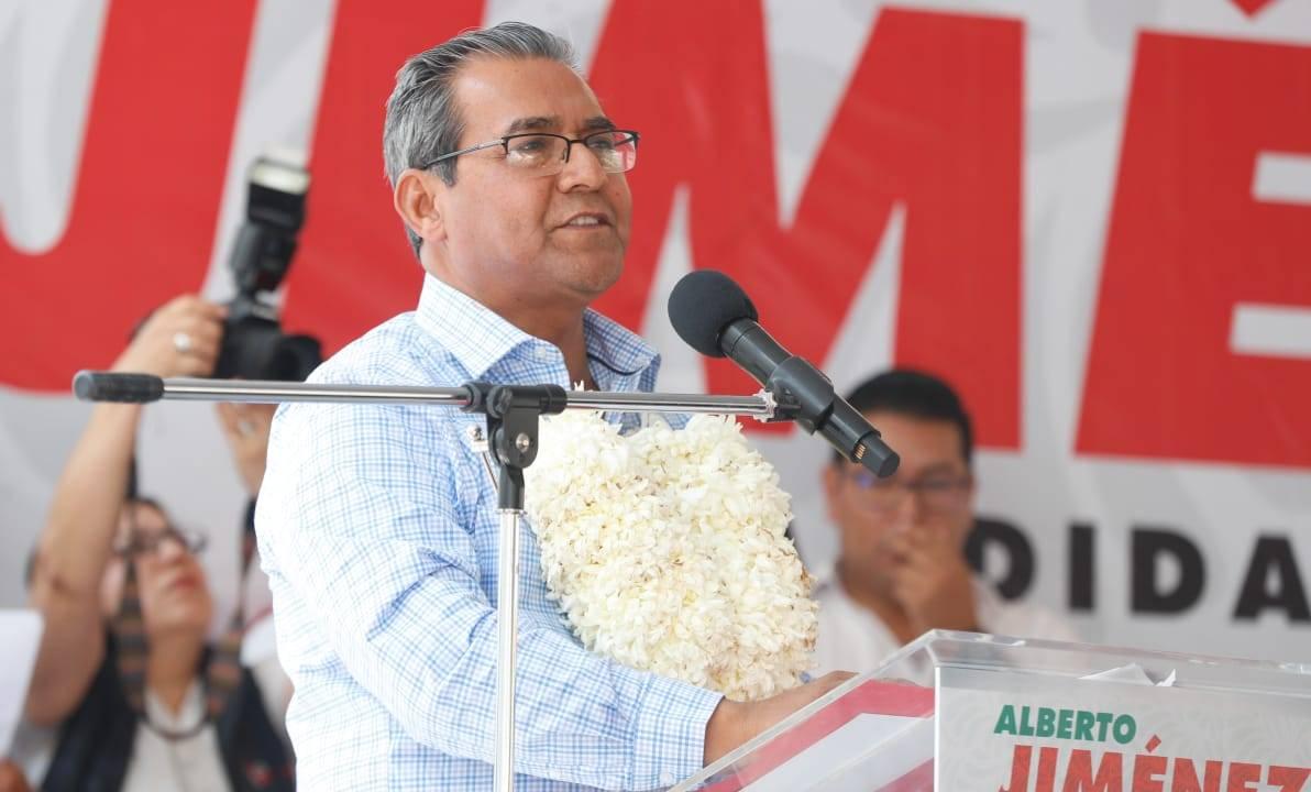 Foto: 'No todos somos corruptos', dice Alberto Jiménez en Puebla 1 abril 2019
