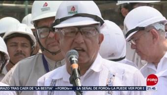 FOTO: AMLO anuncia Programa Nacional de Reconstrucción en Oaxaca, 28 ABRIL 2019