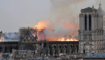 Foto: Incendio en Notre Dame, en París, 15 de abril de 2019, París, Francia