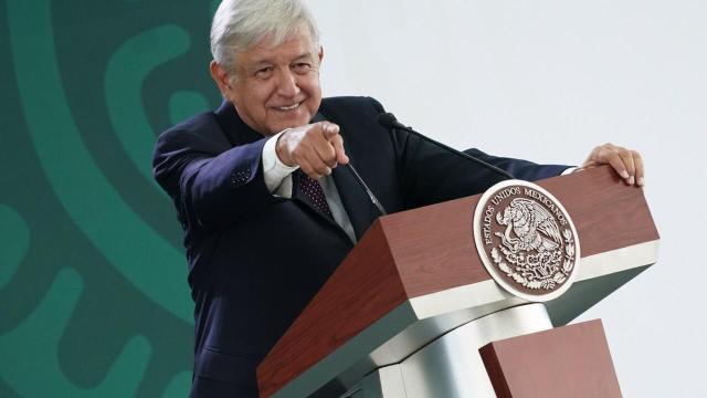 Foto: El presidente de México, Andrés Manuel López Obrador, en su conferencia de prensa matutina celebrada en Jalisco, 5 abril 2019