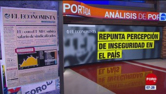 Análisis de las portadas nacionales e internacionales del 22 de abril del 2019