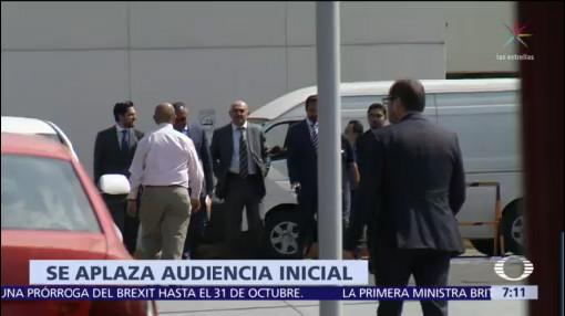 Aplazan audiencia contra Trauwitz por huachicol