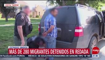 Foto: Arrestan a 280 empleados ilegales en Texas