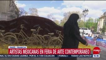 Foto: Artistas Mexicanas Exponen Ciudad Luz 5 de Abril 2019