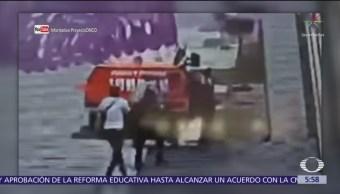 Asaltan a repartidores de pipa de gas en Puebla