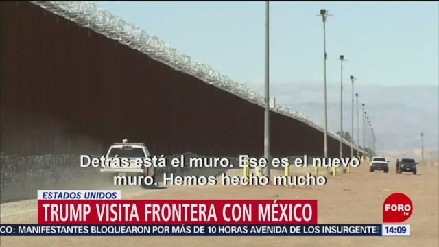 FOTO: Así fue la visita de Trump a la frontera con México, 6 de abril 2019