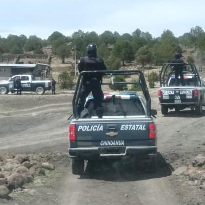 Muere policía y cinco delincuentes durante enfrentamientos en Chihuahua