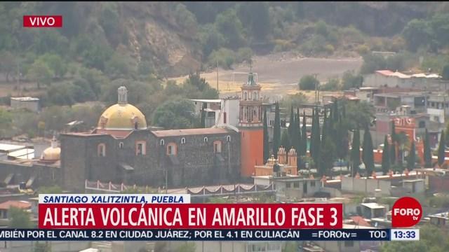 Foto: Autoridades aclaran que no hay estado de emergencia por volcán Popocatépetl