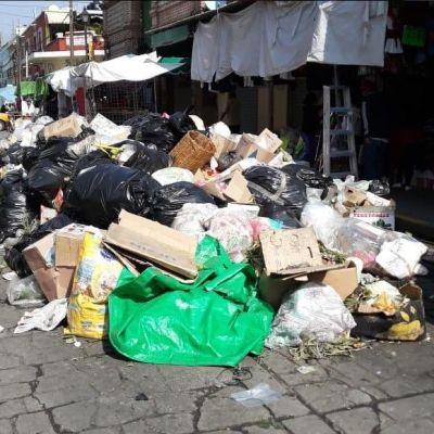 Se acumula la basura en Oaxaca ante arribo de turistas por Semana Santa