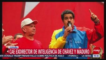 FOTO: Cae exdirector de inteligencia de Chávez y Maduro en España, 13 de abril 2019