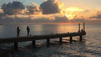 Foto: Playa en Cozumel, Quintna Roo, 22 diciembre 2027, México