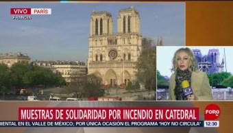 Campanas de catedrales en Francia repican en honor a Notre Dame