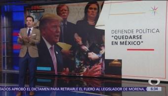 Casa Blanca contradice a Gobierno AMLO sobre migrantes