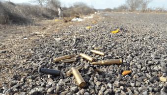 Foto: Casquillos de bala en Mazatlán, Sinaloa., 1 de julio de 2017, México
