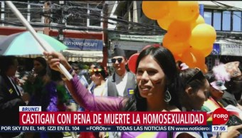 Foto: Castigan Homosexualidad Pena Muerte Brunei 3 de Abril 2019