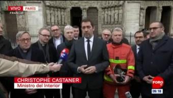 Catedral de Notre Dame será reconstruida, reitera Francia