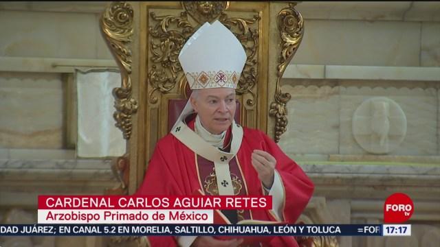 FOTO: Celebran el Domingo de Ramos en la Catedral Metropolitana, 14 de abril 2019