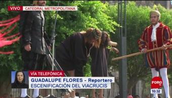 FOTO: Celebran Vía Crucis en la Catedral Metropolitana, 19 ABRIL 2019