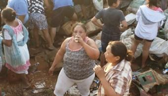 Saquean tráiler de cerveza en carretera Campeche-Merida