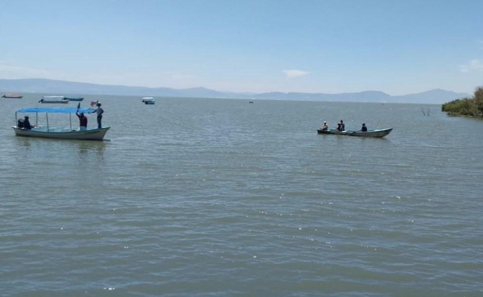 Foto: En Jalisco, dos hermanos de 15 y 16 años de edad, mueren ahogados en la zona del malecón de Mezcala, en la laguna de Chapala, abril 6 de 2019 (Twitter: @Quadratin_Jal)