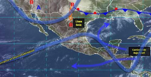 Foto: Imagen de fenómenos meteorológicos significativos de las 06:00 horas, 6 abril 2019