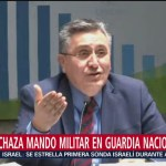 Foto: Cndh Rechaza Mando Militar Guardia Nacional México 11 de Abril 2019