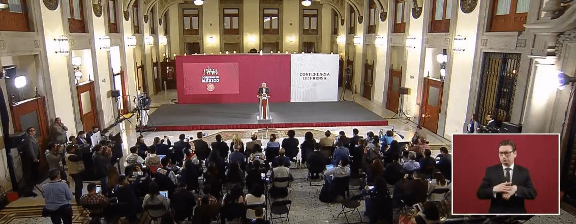 FOTO Transmisión en vivo: Conferencia de prensa AMLO 25 de abril 2019 (YouTube/AMLO)