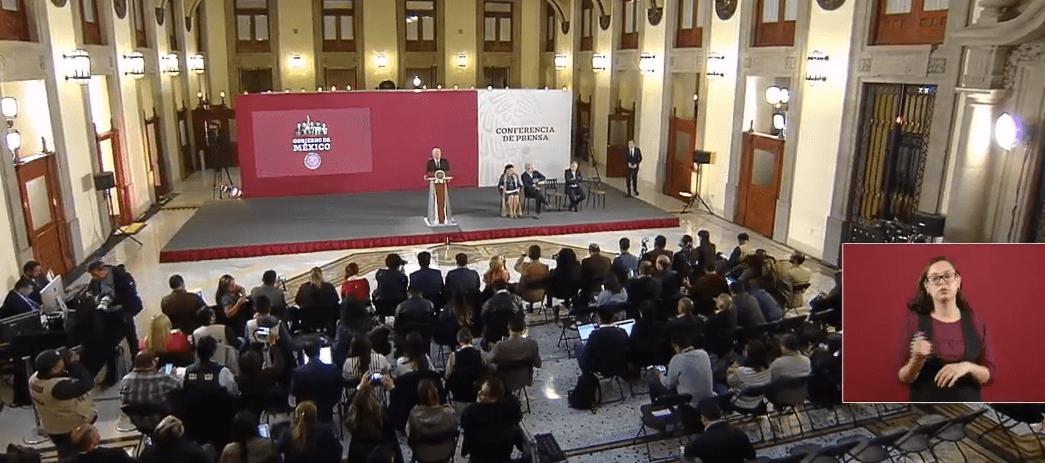 FOTO Transmisión en vivo: Conferencia de prensa AMLO 2 de abril 2019