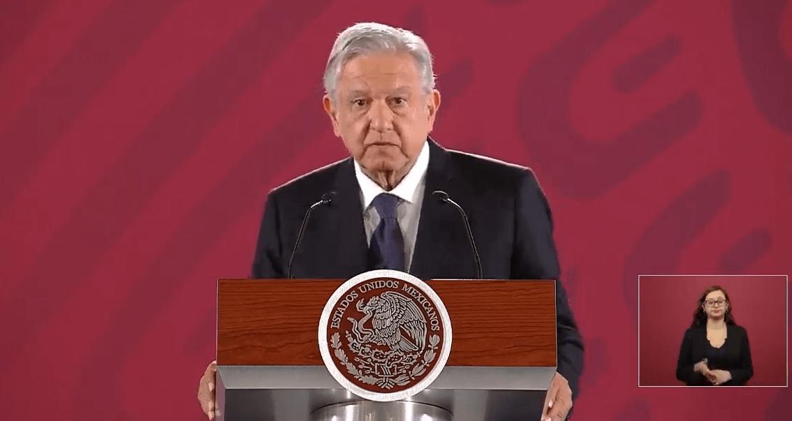 Transmisión en vivo: Conferencia de prensa AMLO 10 de abril 2019
