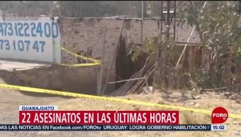 Foto: Continúa la ola de violencia en Guanajuato