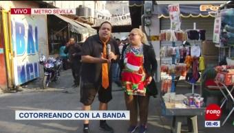 #CotorreandoconlaBanda: 'El Repor': 'El Repor' suelto en metro Sevilla