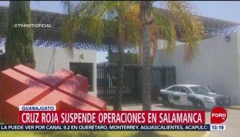 FOTO: Cruz Roja suspende operaciones en Salamanca por inseguridad, 14 de abril 2019
